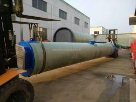 玻璃钢一体化预制泵站直径3000*8000高端定制