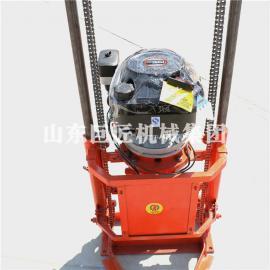 巨匠直销QZ-2B型汽油机轻便取样钻机 岩芯勘探钻机野外施工方便