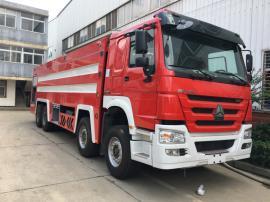 重汽前四后八24吨泡沫消防车销售 江南消防车制造厂销售