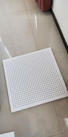 降噪岩棉玻纤板 写字楼专用岩棉硅酸钙冲孔吸音板