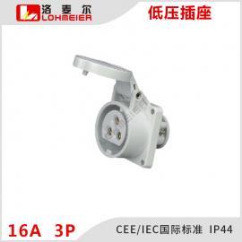 安吉洛麦尔 低压插座插头连接器16A工地用防水防尘防爆便携安全