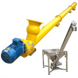 安创定制 蛟龙螺旋输送机 移动上料机 不锈钢管式螺旋输送机
