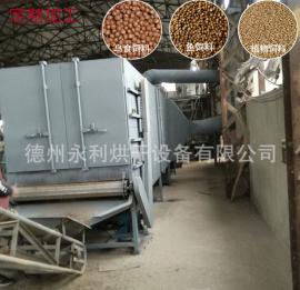 膨化饲料烘干机 流水线式饲料烘干设备