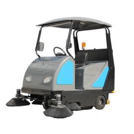 大型工厂清洁用洗扫地车|工厂灰尘清洁用洒水式扫地机