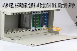 19″�俗�C��插拔式光分路器子框(PLC插片式�C框/分配架/�卧�箱)