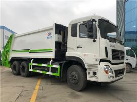 东风天龙12吨压缩垃圾车