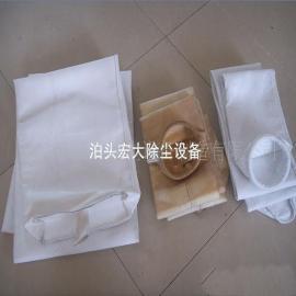 除尘设备布袋除尘器核心配件涤纶针刺毡除尘布袋