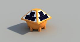 河道小型浮标式多参数检测分析平台-太阳能供电