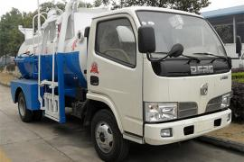 油污收集车-五十铃餐厨垃圾车(4.5方)