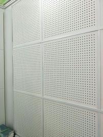 降噪岩棉玻纤板 某公司大厅专用岩棉硅酸钙冲孔吸音板