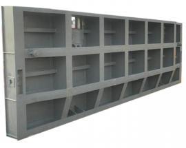 平面定轮式钢制闸门 平面钢制闸门 定做大型钢闸门