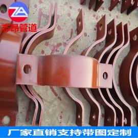 不锈钢基准型A5双螺栓管夹