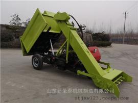 自卸式清粪车报价 三轮粪便清理车 圣泰生产制造