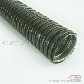 镀锌钢带加PVC包塑管,一洋五金黑色波纹管系列