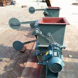 安创定制 双层重锤翻板阀 单层气动电动手动翻板阀 卸料器厂直供
