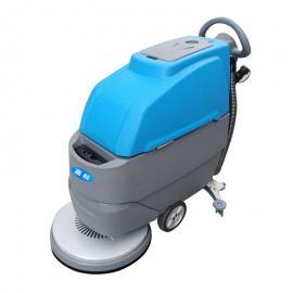 工厂环氧地面用手推式洗地机|商场工厂用全自动洗地机