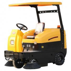 乐普洁L-1500物业专用清扫驾驶式扫地车 电动驾驶扫地机