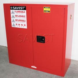 30加仑可燃液体防火安全柜红色防火防爆柜工业安全柜
