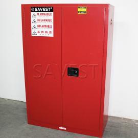 45加仑可燃液体防火安全柜红色防火防爆柜化学品柜