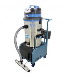 工厂吸粉尘用电瓶式吸尘器 凯德威无线式工业吸尘器