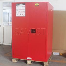 90加仑可燃液体防火安全柜红色防火防爆柜危险品柜