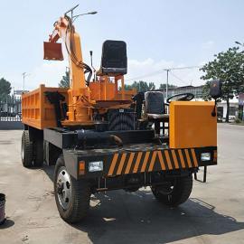 安装在农用车的挖掘机 新款自制农用随车挖