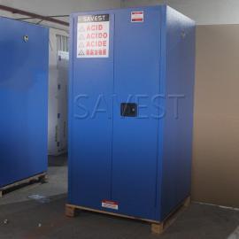 60加仑弱腐蚀性液体防火安全柜蓝色防爆柜化学品柜