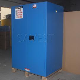90加仑弱腐蚀性液体防火安全柜蓝色防爆柜化学品柜