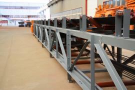 煤矿皮带输送机自动调心滚筒
