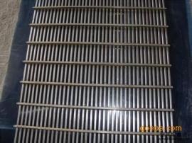 厂家定做不锈钢条缝筛 梯形条筛网 筛缝均匀 焊接牢固