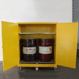 110加仑双桶油桶储存柜