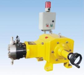 全保温夹套式计量泵 液压双隔膜式计量泵(带报警装置)