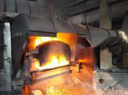 圆形大揭盖熔铝炉烟尘治理