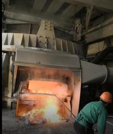 园形熔铸炉除尘器