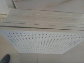 高铁站候车大厅 专用岩棉硅酸钙吸声板 降噪岩棉板