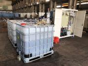 油罐船舶五金清洗废水乳化油含油废水超声波电芬顿电化学废水处理