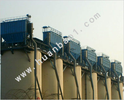 PPC96-6气箱式脉冲袋式水泥厂收尘器 Q235,效率高,易维护