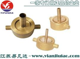 351056船用铸铜空气管接头,6mm-25mm铜质空气管接头