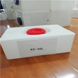 润滑油洗车液等塑料桶矿泉水瓶机械配件水箱 45公斤矮款水箱