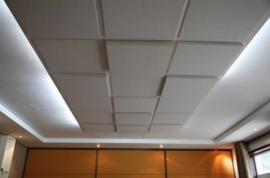 公司会议室 隔音专用 岩棉玻纤吸音板