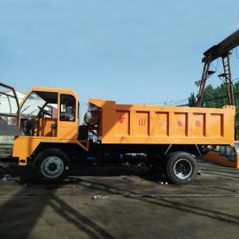 专业生产6吨矿用翻斗车四缸四不像矿山四轮车矿用四轮车型号