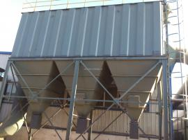 FMQD气箱式脉冲袋式收尘64-4器建材耐火材料厂