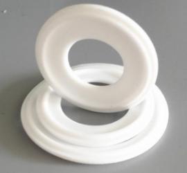 卡箍垫片快装垫1寸2寸ISO标准SIL硅胶PTFE食品级FDA