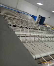 单辊3米工业烫平机 酒店宾馆布草烫平机 折叠机