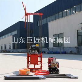 汽油动力取芯钻机 巨匠集团QZ-2B大马力勘探取样钻机