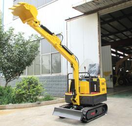 小型履带挖掘机操作灵活 1吨挖掘机一年回本
