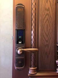 智能锁全自动指纹锁家用防盗门密码锁电子锁微信