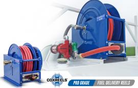 考克斯 自�泳砉芷� 高���簧卷管器 大型卷管器 SLP-4100
