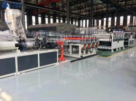 贝尔机械-PVC发泡板橱柜板生产线设备
