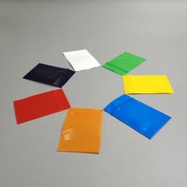 粉红 黑 黄 蓝 绿 紫 橙 白 透明PE骨袋大型工厂